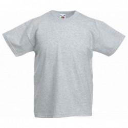 Billige Ensfarvet T-Shirts Til Børn : Farve - Sort, Børnetøj - Str. 116