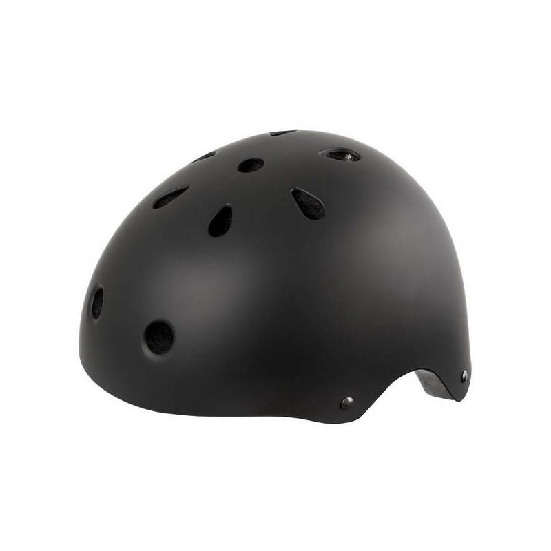 Ventura Cykelhjelm Skater Model Mat Sort Størrelse M Eller L : Hjelm Størrelse - M / 54-58 cm