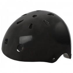 Ventura Cykelhjelm Skater Model Blank Sort : Hjelm Størrelse - L / 58-61 cm