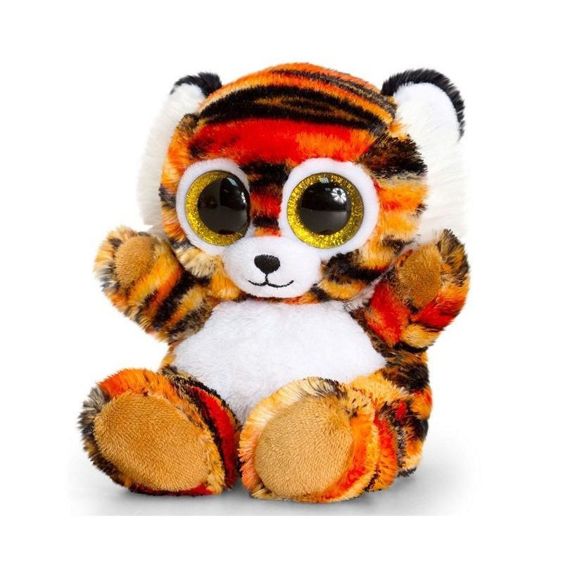 Tiger Bamse Med Glimmer Øjne Til Piger og Drenge 20 cm