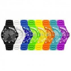 Fashion Armbåndsur I Flere Farver Til Damer Og Herre : Farve - Orange