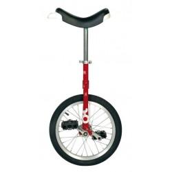 """16"""" QU-AX Ethjulet Cykel Rød"""