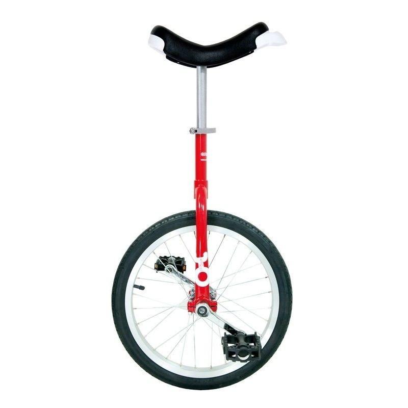 """20"""" QU-AX Ethjulet Cykel Rød"""