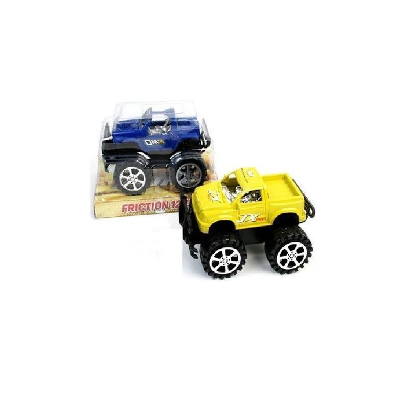 Stor Friktion Jeep 12 cm : Farve - Blå