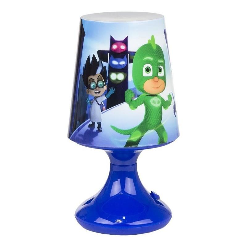 Pyjamasheltene Bordlampe Til Børneværelset 18x10 cm : Farve - Blå