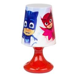 Pyjamasheltene Bordlampe Til Børneværelset 18x10 cm : Farve - Rød