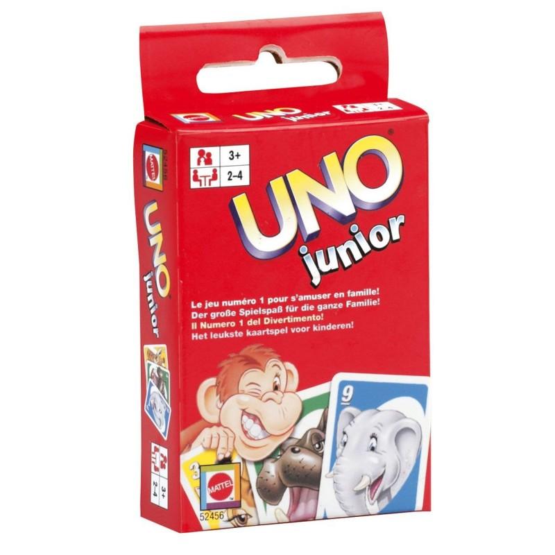 UNO Junior - Børne UNO Spil Med Dyr