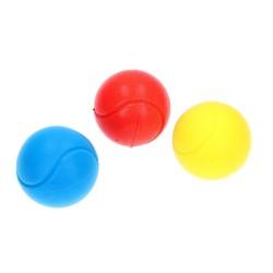 Soft Ball i forskellige Farver Ø 7 cm : Farve - Leveres i assorteret farver