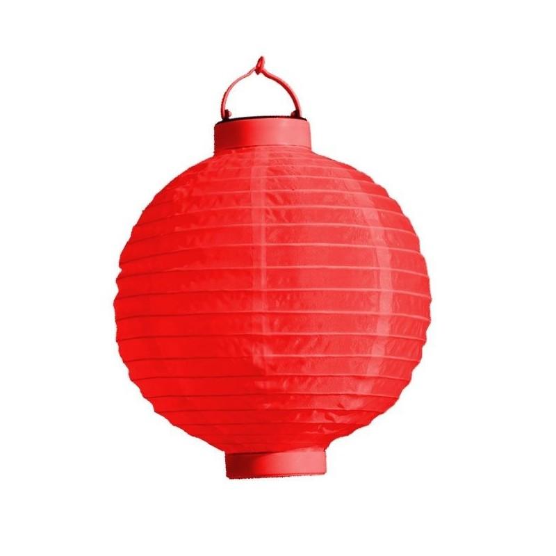 LED Rislampe Til Hyggelige Stunner 20 cm : Farve - Rød