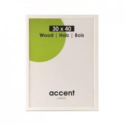 30x40 cm Nielsen Fotoramme Accent i Træ : Farve - Hvid
