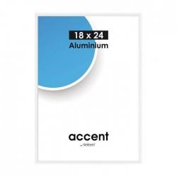 21 x 29,7 cm (DIN A4) Nielsen Fotoramme Accent i Aluminium Flere Farver : Farve - Hvid