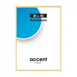 30 x 40 cm Nielsen Fotoramme Accent i Aluminium Flere Farver : Farve - Guld