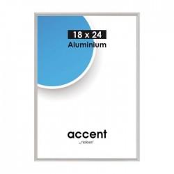 40 x 50 cm Nielsen Fotoramme Accent i Aluminium Flere Farver : Farve - Mat Silver