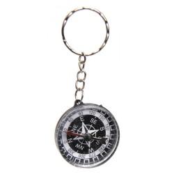 Nøglering Med Mini Kompas