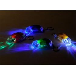 Nøglering Bil Med Indbygget LED Lys
