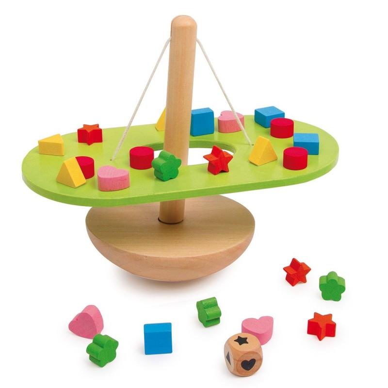 Balance Spil Med Små Vægt Klodser
