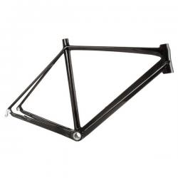 Racer Ramme UD Carbon Klar Lakeret 820 Gram : Stel Størrelse - 54 cm