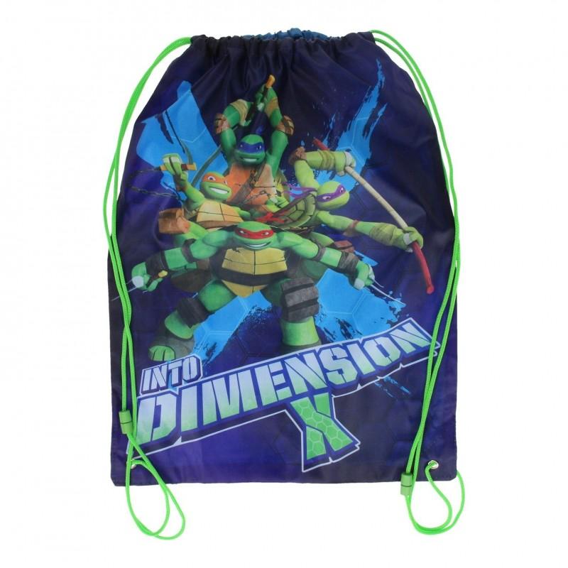 Ninja Turtles Turpose eller Som Gymnastikpose 44x33 cm