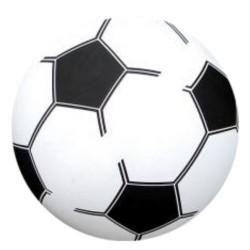 PVC Plast Fodbold Til Børn Ø 20 cm : Pumpes - Nej tak det gør jeg selv: 0,-, Farve - Gul