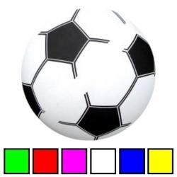 PVC Plast Fodbold Til Børn Ø 20 cm : Pumpes - Nej tak det gør jeg selv: 0,-, Farve - Rød