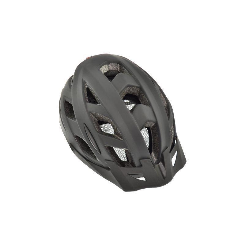 AGU Cit-E III LED Cykelhjelm Sort Til Mænd og Kvinder : Hjelm Størrelse - L / 58-61 cm