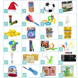 Pakkekalender Til Børn På 3-5 år - Specielt Til Drenge : Pakker - Nej tak - Det gør jeg selv 0 kr