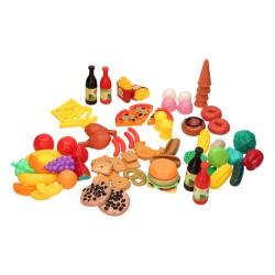 Kæmpe Food Market - Legemad Til Børn