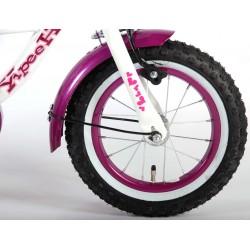 Heart Cruiser Pigecykel 12 tommer hvid