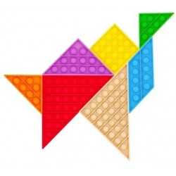 Pop it Tangram XL Rainbow