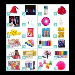 Pakkekalender Til Piger 5-7 år - Bubbleezz : Pakker - Nej tak - Det gør jeg selv 0 kr