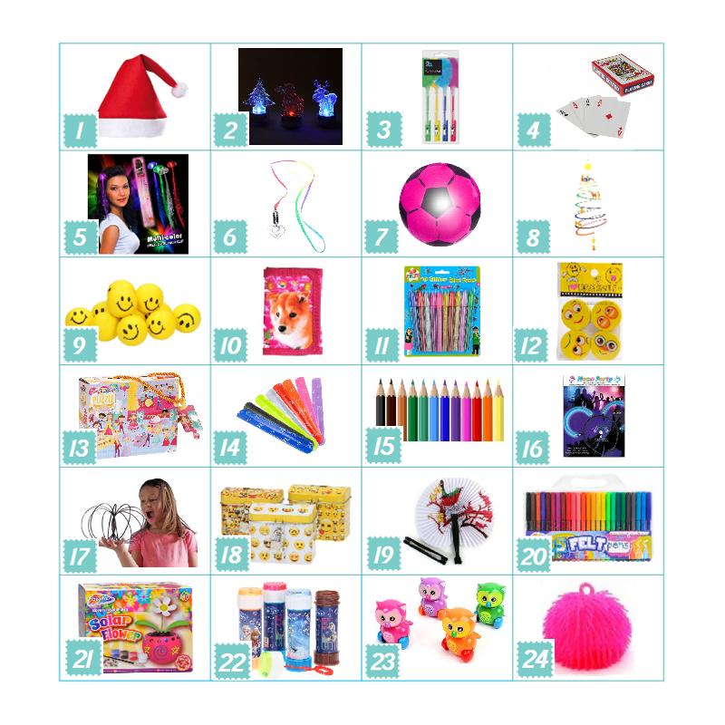 Pakkekalender Til Piger 5-7 år : Pakker - Nej tak - Det gør jeg selv 0 kr