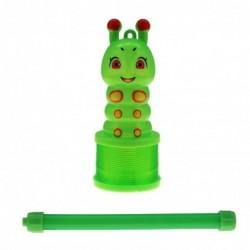 Fjeder Larve Lanterne Med Skiftende Lys : Farve - Grøn