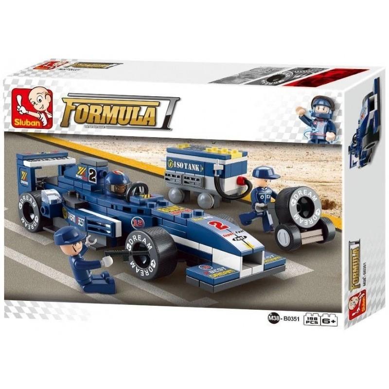 F1 Racerbil Byggesæt 198 Dele