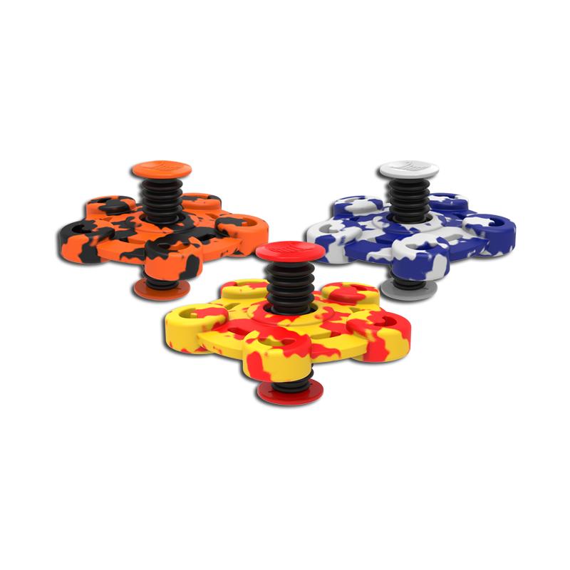 Flip Spinners i Camouflage Farver : Farve - Blå