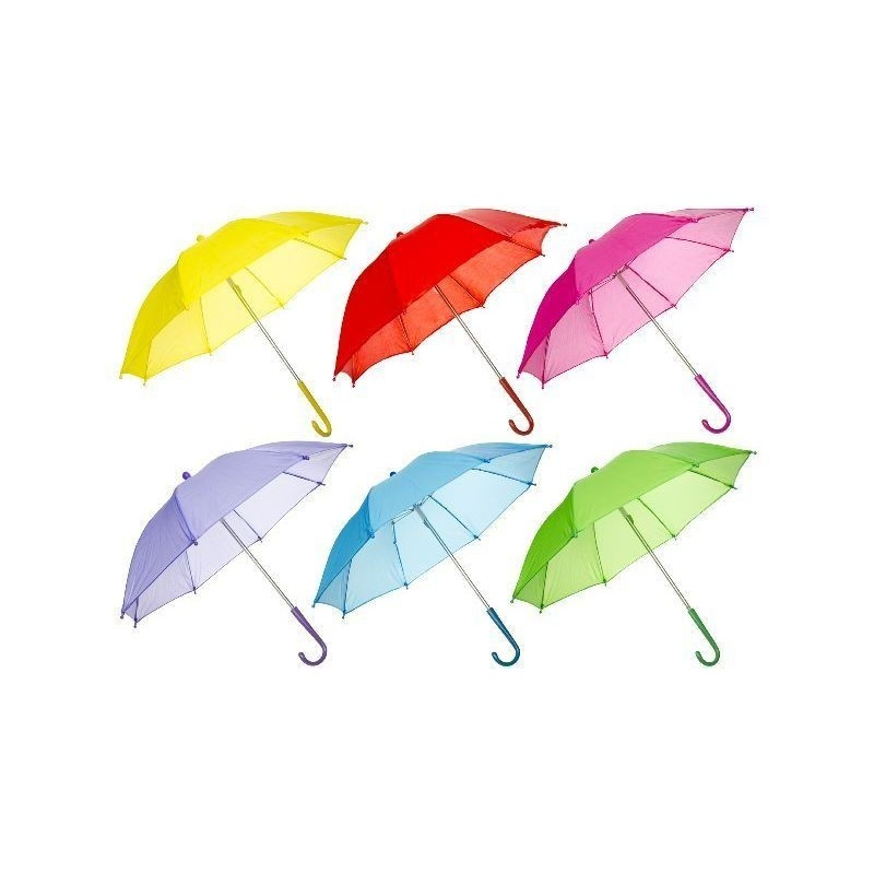 Paraply Til Børn Ø 50 cm Flere Farver : Farve - Grøn
