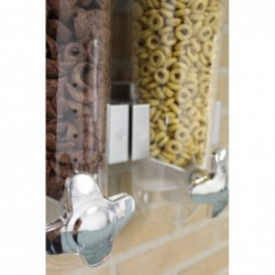 Cornflakes Dispenser Til Montering På Væg 31 x 50 x 11 cm Hvid