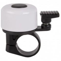 Mini Ringeklokke Til Cykler Hvid - Oversize 34,9 mm